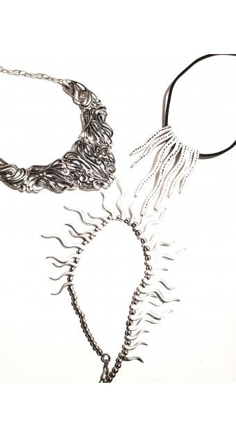 SKU: ZC Rhodium Necklace